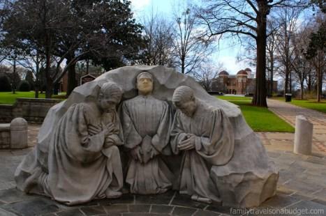 Praying Pastors at Kelly Ingram Park