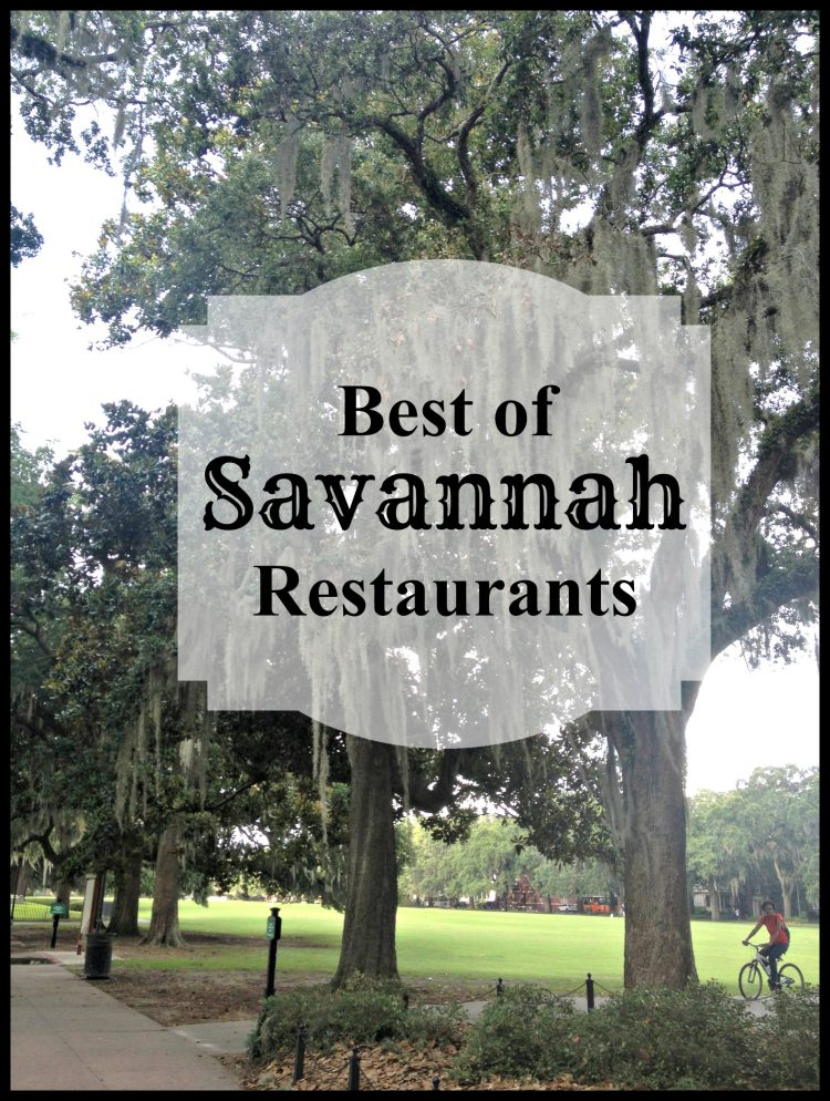 Best of: Savannah Restaurants