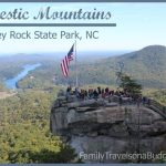 Chimney Rock State Park in NC