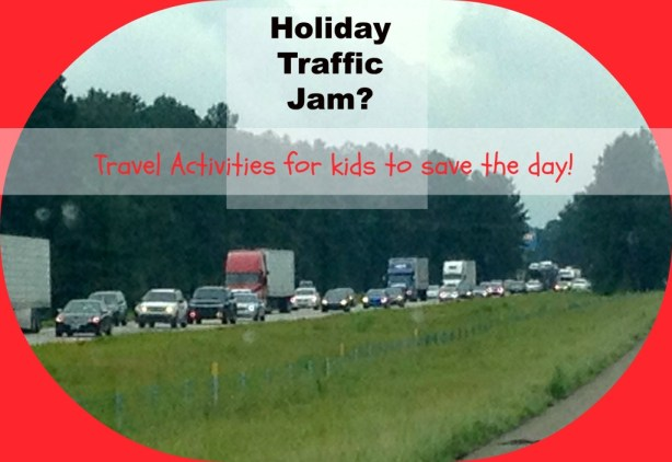 Stuck in traffic with restless kids? We've got ideas to save the day!