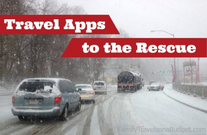 Travel Apps to the Rescue -- These handy apps are great for road trippers!