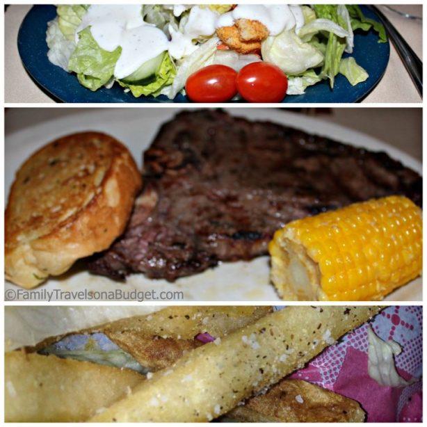 Dinner at Rawhide