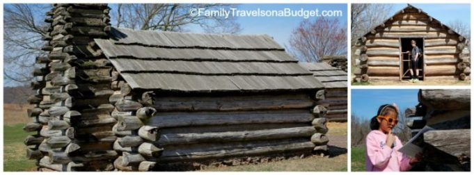 Valley Forge Log Huts