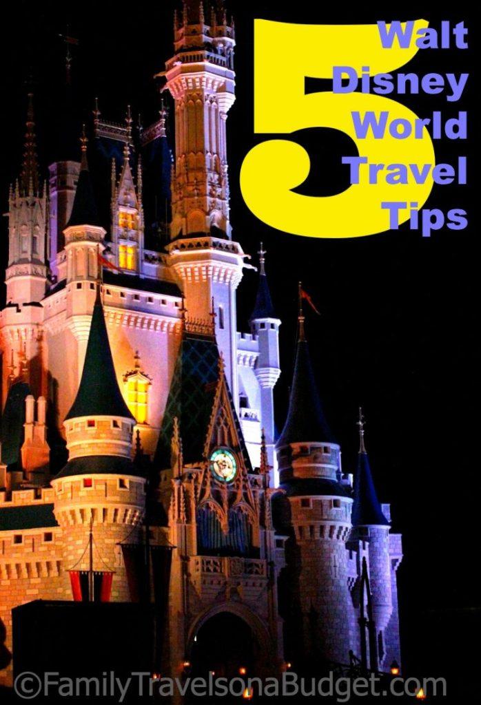 #WDW Walt Disney World Travel Tips