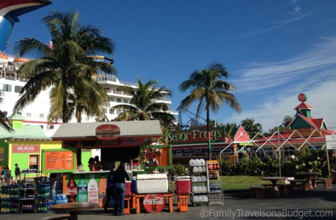 Docked in Freeport, The Bahamas.