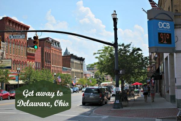 Get away Delaware Ohio