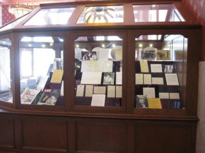 Letters written to and from the First Ladies. Photo courtesy of the First Ladies National Historic Site.