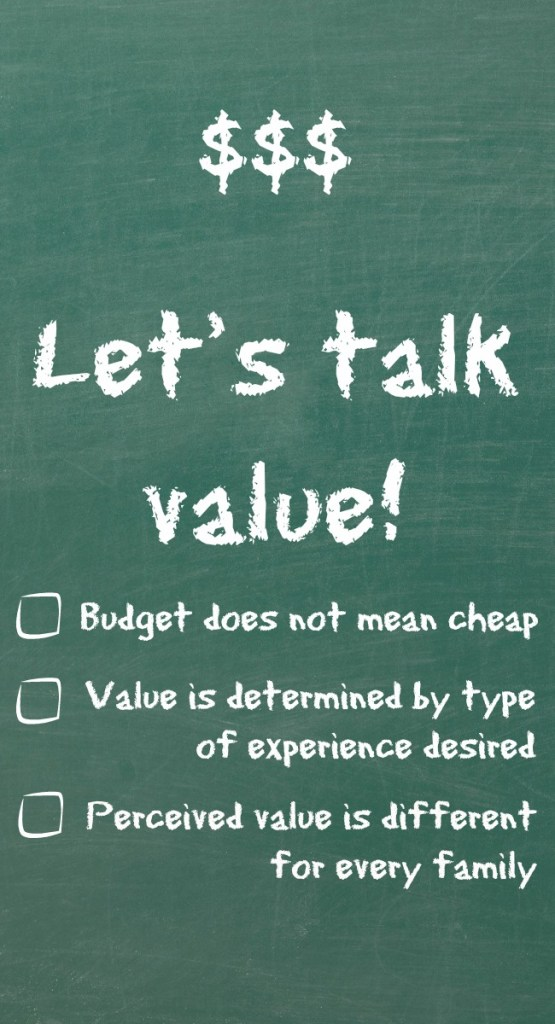Let's talk value!
