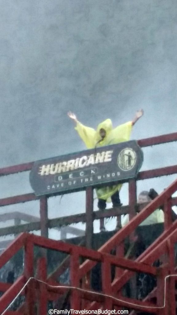 The Hurricane Deck at Cave of the Winds