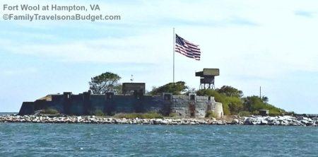 Fort Wool at Hampton VA