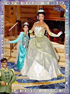 Disney Cruise Line Ellie and Tiana #ftoab