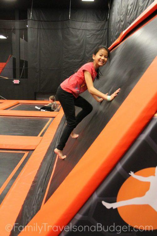 Jump Cville Wall