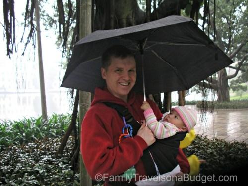 Rain Guangzhou China