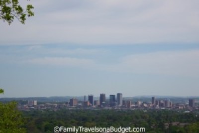 Birmingham view from Red Mountain Park