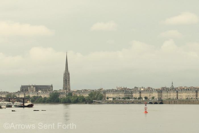 Bordeaux Waterfront by Nicole Wiltrout