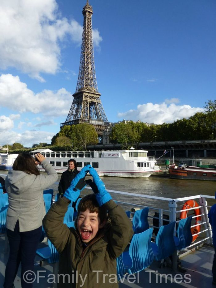 Family Travel Times in Paris