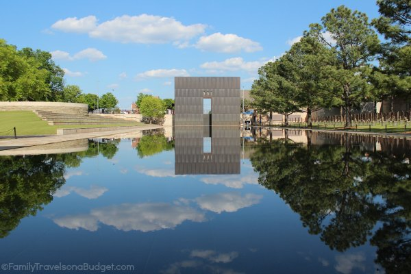 OKC, National Memorial Reflecting Pool