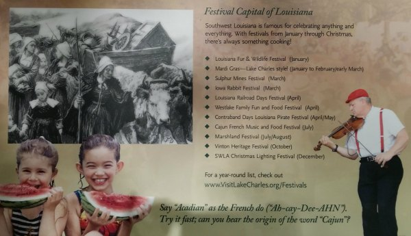 Creole Nature Trail Adventure Point Festivals #SWLA