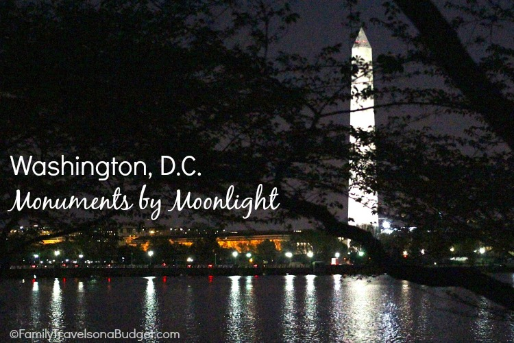 Monuments by Moonlight in Washington DC