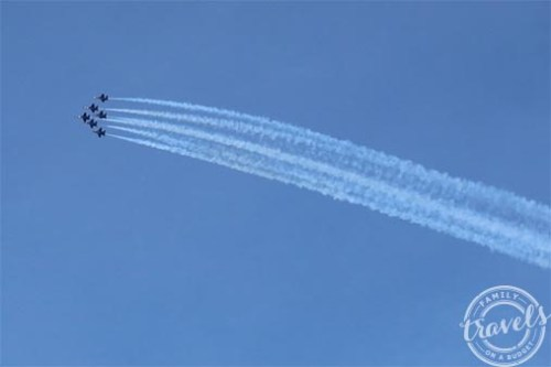 Sail Wild Hearts and the Blue Angels overhead! Awesome!