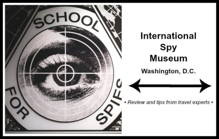 Spy Museum Washington DC