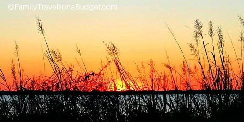 Sunset at Pamlico Sound