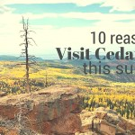 10 Reasons to visit Cedar City this summer