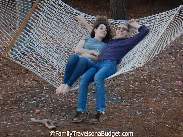 Disney's Hilton Head Island Resort hammocks
