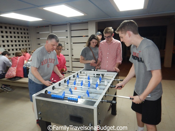 Foosball at Disney's Hilton Head Resort