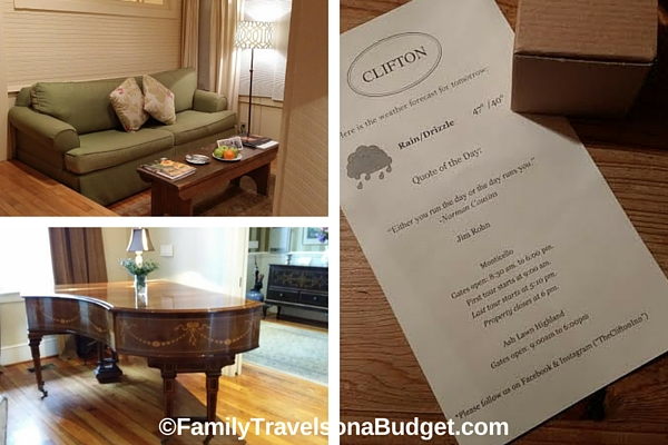 Clifton Inn Charlottesville Getaways luxury lodging
