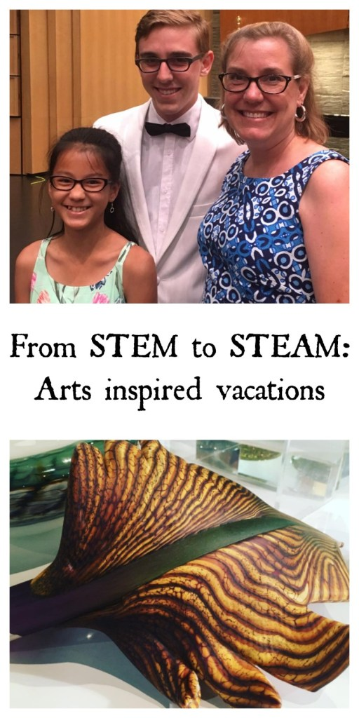From STEM to STEAM: Arts inspired vacations