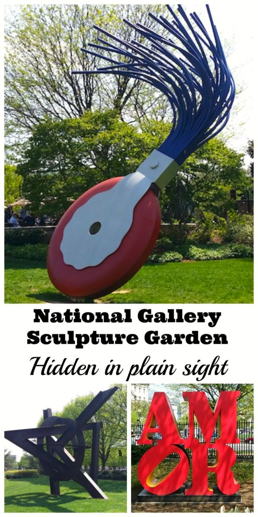 National Gallery Sculpture Garden: Hidden in plain sight
