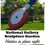 The National Gallery Sculpture Garden is hidden in plain sight