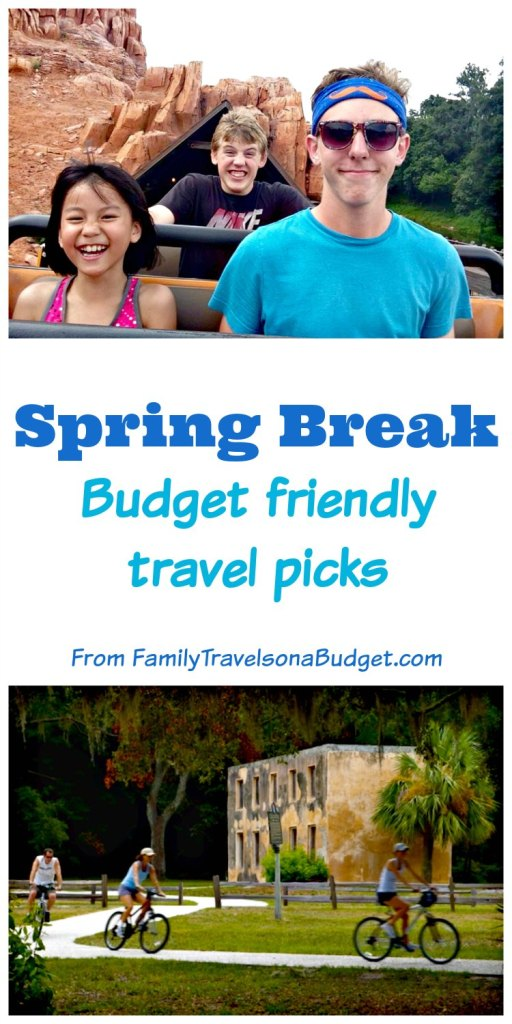 Spring break ideas for budget travelers