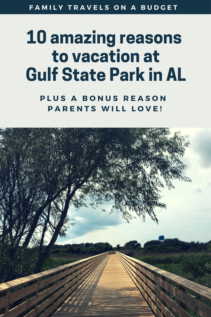 The boardwalk trail at Gulf State Park in Alabama is one of many reasons to vacation here. Read to learn more.