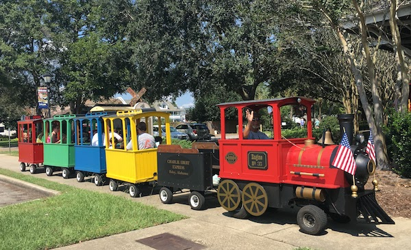 Free rides at the Foley train museum