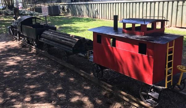 Kid sized train, Foley train museum