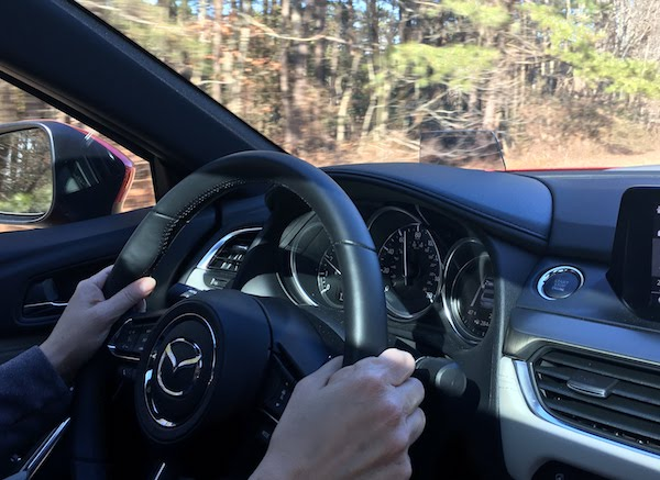 2017 Mazda 6 Grand Touring has a heated steering wheel