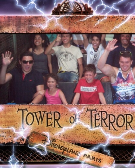 Tower of Terror, Disneyland