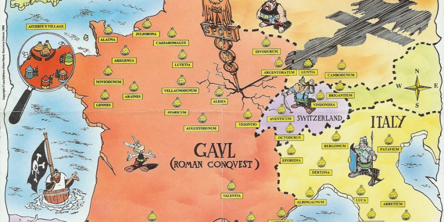 Gaul World Map.Plan Your Tour Of Gaul With The Kids Family Travel With Ellie