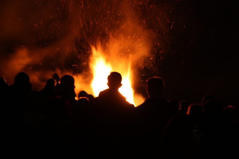 Bonfires and Fireworks in Kent