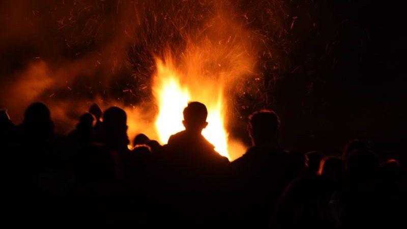 Bonfires and Fireworks in Kent
