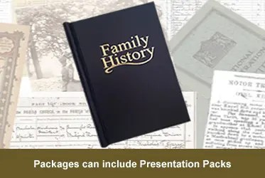 Family Tree Packages - Presentation Folder