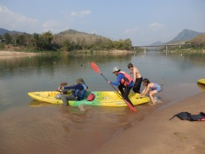I did the last part on the Mekong. Angela and the kids had had enough.
