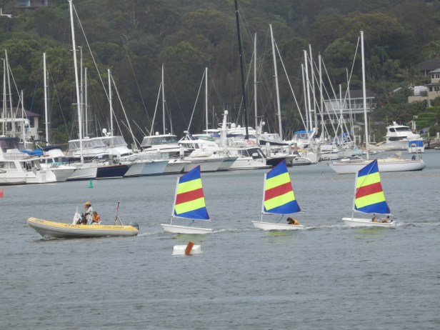 Sailing school - a must for any island child.