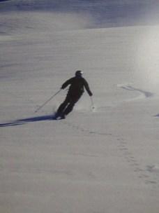 Jacob glacier skiing