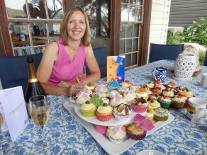 50 cupcakes baked by friends to celebrate 50 years