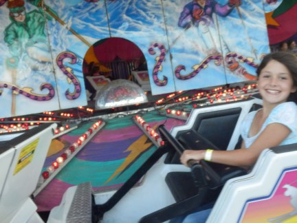lots of fun was had at the fairground