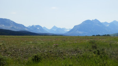 Meadows and mountains - lovely