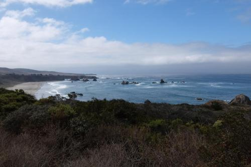 California linea costiera verso San Francisco
